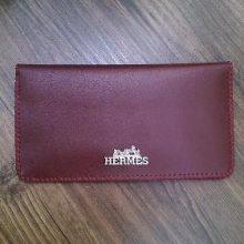 کیف پول چرمی زنانه دست ساز (چرم مصنوعی) – طرح هرمس – Hermes